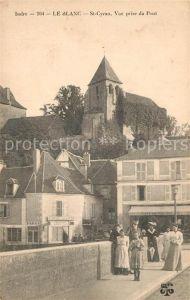 AK / Ansichtskarte Le_Blanc_Indre St Cyran Vue prise du Pont Le_Blanc_Indre