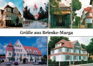 AK / Ansichtskarte Marga_Brieske Alte Post Lutherkirche Schule Parkstrasse Gasthaus Briesker Strasse 11