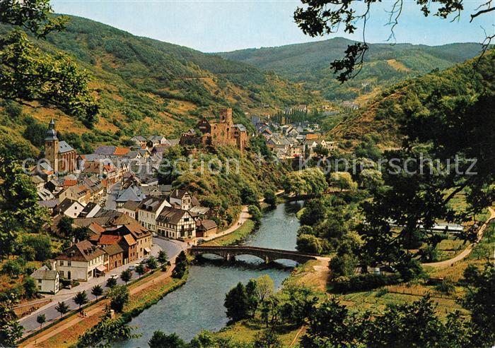 heimbach eifel karte AK / Ansichtskarte Heimbach_Eifel Rur Burg Heimbach Eifel Kat