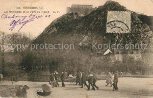 AK / Ansichtskarte Cherbourg_Octeville_Basse_Normandie Montagne Fort du Roule Cherbourg_Octeville Kat. Cherbourg Octeville
