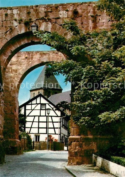 AK / Ansichtskarte Nideggen_Eifel Nixtor Nideggen Eifel