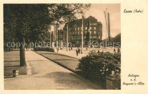 AK / Ansichtskarte Essen_Ruhr Anlagen an der Huyssens Allee Essen_Ruhr