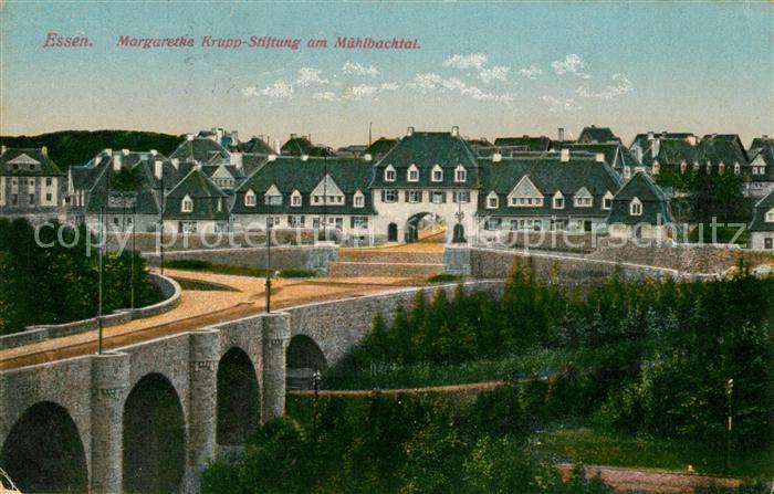 AK / Ansichtskarte Essen_Ruhr Margarethe Krupp Stiftung im Muehlbahtal Essen_Ruhr