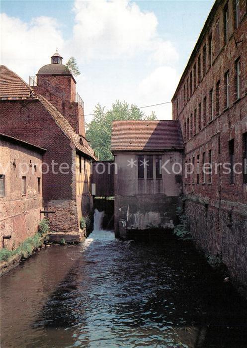 AK / Ansichtskarte Peitz Huettenwerk Hochofengebaeude Emaillierhuette Peitz