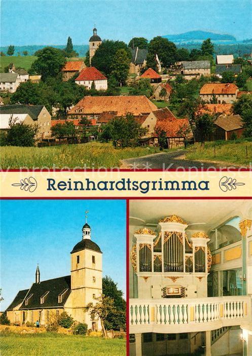 AK / Ansichtskarte Reinhardtsgrimma Kirche Silbermannorgel  Reinhardtsgrimma