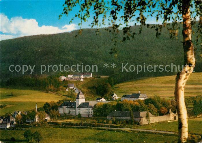 AK / Ansichtskarte Grafschaft_Sauerland Grafschafter Hof mit Grafschafter Keller Grafschaft_Sauerland