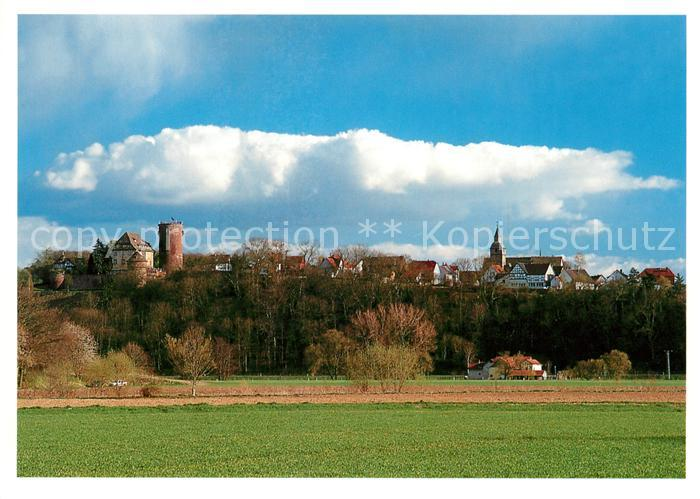 AK / Ansichtskarte Trendelburg Blick ueber die Felder zum Ort am Rheinhardwald Trendelburg