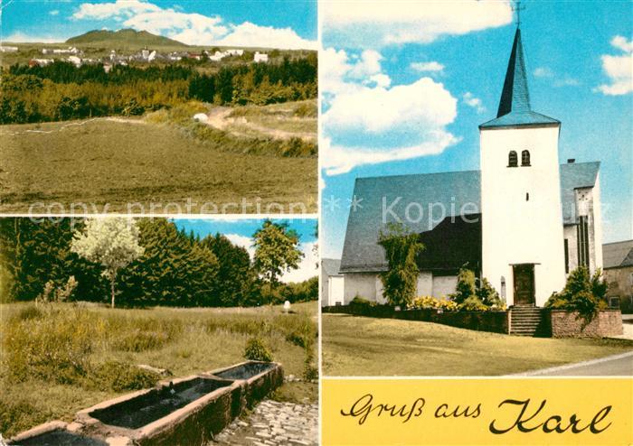 AK / Ansichtskarte Karl Kirche Quelle Karl