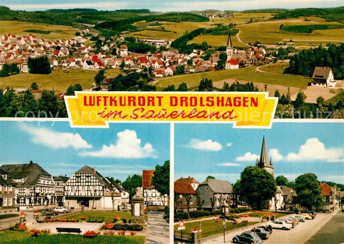 AK / Ansichtskarte Drolshagen  Drolshagen