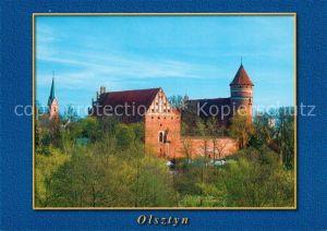 AK / Ansichtskarte Allenstein_Olsztyn Zamek Schloss Allenstein_Olsztyn