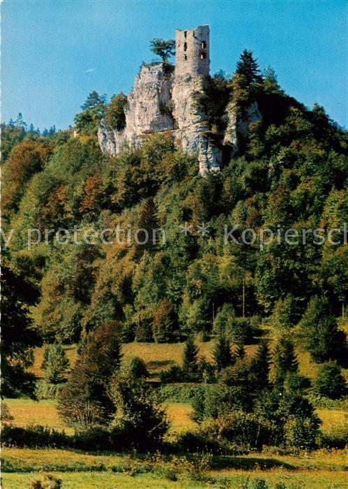 AK / Ansichtskarte Neideck Burgruine Fraenkische Schweiz Neideck