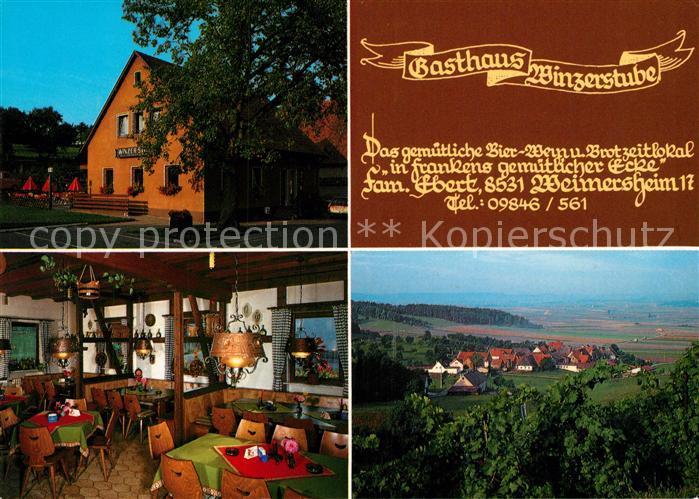 AK / Ansichtskarte Ipsheim Gasthaus Winzerstube Ipsheim