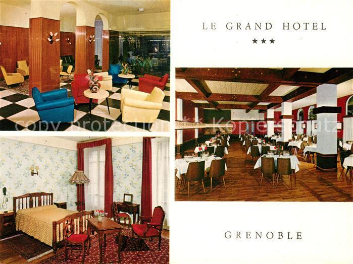 AK / Ansichtskarte Grenoble Le Grand Hotel Grenoble