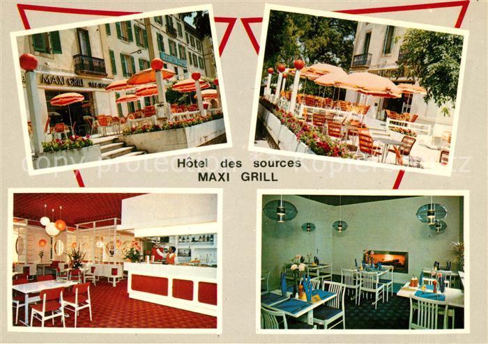 AK / Ansichtskarte Vittel Hotel des Sources Vittel