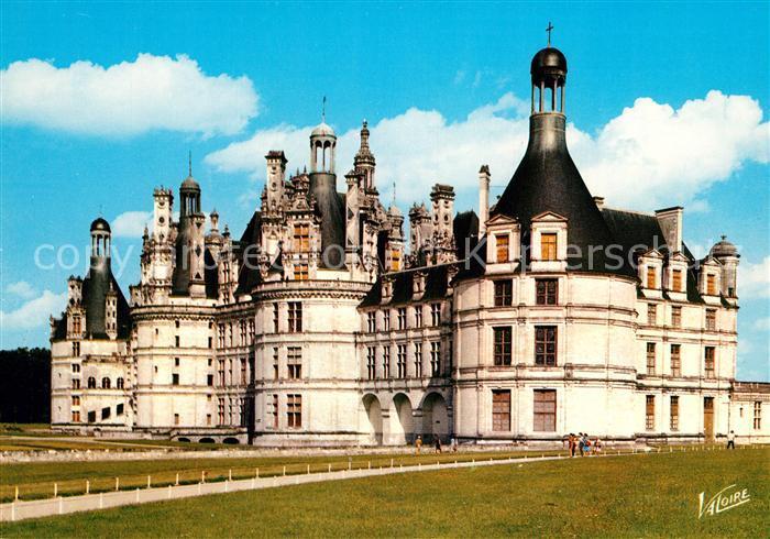 AK / Ansichtskarte Chambord_Blois Facade principale du Chateau XVI siecle Collection Les Merveilles du Val de Loire Chambord Blois