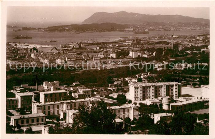 AK / Ansichtskarte Toulon_Var Les Casernes Ste Anne et la Rade Toulon_Var