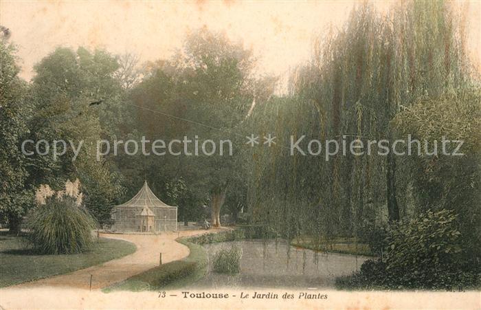 AK / Ansichtskarte Toulouse_Haute Garonne Le Jardin des Plantes ...