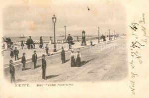 AK / Ansichtskarte Dieppe_Seine Maritime Boulevard Maritime Dieppe Seine Maritime