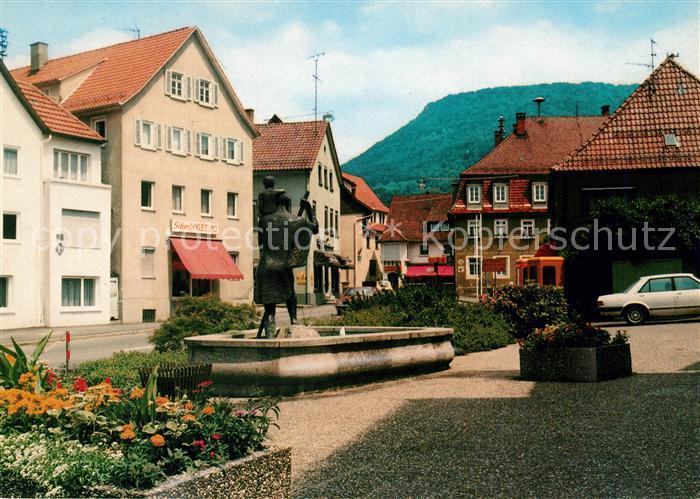 AK / Ansichtskarte Donzdorf Ortsansicht Donzdorf