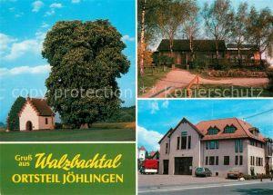 AK / Ansichtskarte Joehlingen Maria Hilf Kapelle Naturfreundehaus Feuerwehrhaus Joehlingen