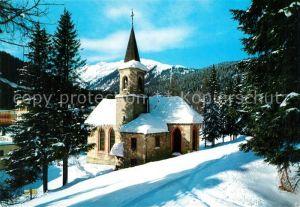 AK / Ansichtskarte Madonna_di_Campiglio Chiesa Kirche  Madonna_di_Campiglio