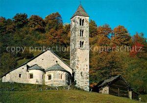 AK / Ansichtskarte Acquarossa Chiesa San Carlo di Negrentino Valle Blenio Acquarossa