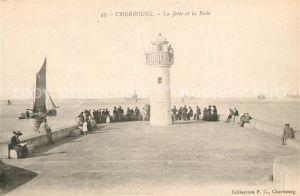 AK / Ansichtskarte Cherbourg_Octeville_Basse_Normandie La Jetee et la Rade Cherbourg_Octeville
