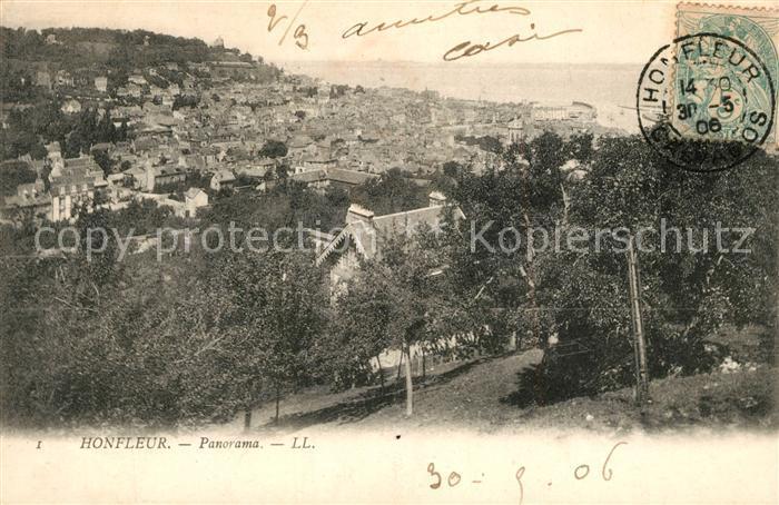 AK / Ansichtskarte Honfleur Panorama Honfleur