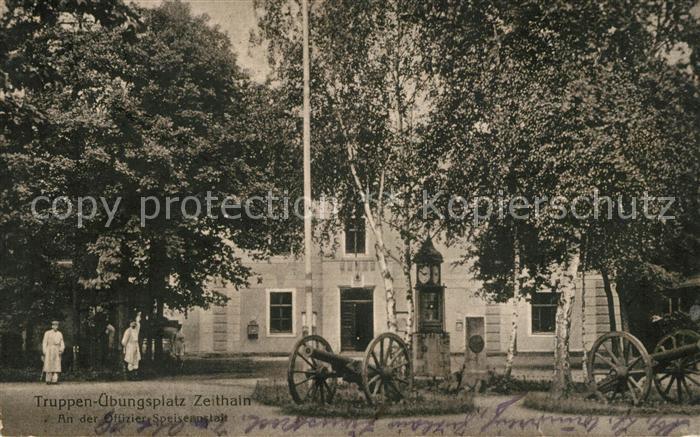 AK / Ansichtskarte Zeithain Truppenuebungsplatz Offiziers Speiseanstalt Zeithain