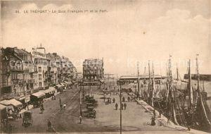 AK / Ansichtskarte Le_Treport Quai Francois Ier et le Port Bateaux Le_Treport