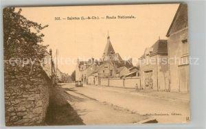 AK / Ansichtskarte Suevres Route Nationale Suevres