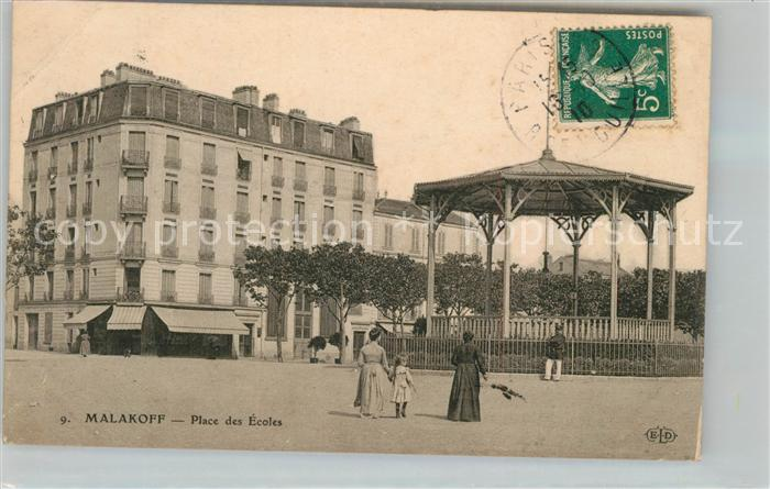 AK / Ansichtskarte Malakoff_Hauts de Seine Place des Ecoles Malakoff_Hauts de Seine