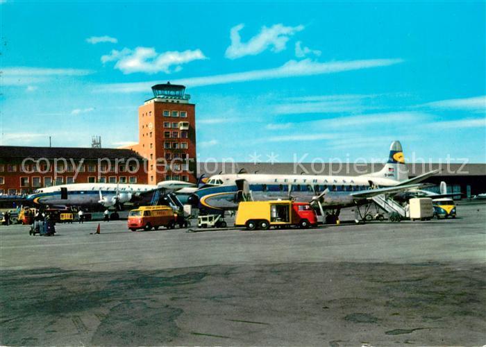 AK / Ansichtskarte Lufthansa Muenchen Flughafen Riem  Lufthansa