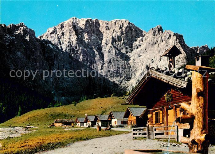 AK / Ansichtskarte Eng_Hinterriss_Tirol Engalmen gegen Grubenkar  Eng_Hinterriss_Tirol