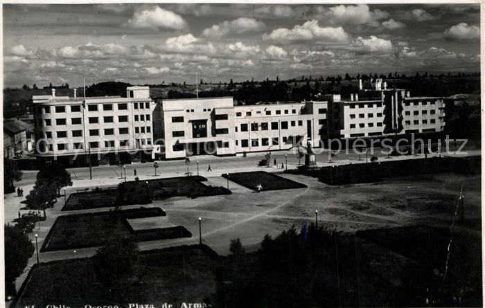 AK / Ansichtskarte Osorno Plaza de Armas Osorno
