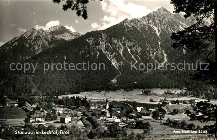 AK / Ansichtskarte Stanzach_Tirol im Lechtal Panorama Stanzach Tirol