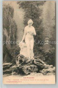 AK / Ansichtskarte Luchon_Haute Garonne Statue de la Vallee du Lys dans le Parc Luchon Haute Garonne