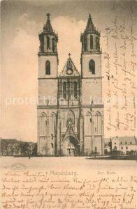 AK / Ansichtskarte Magdeburg Der Dom Magdeburg
