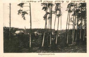 AK / Ansichtskarte Magdeburgerforth Panorama Magdeburgerforth