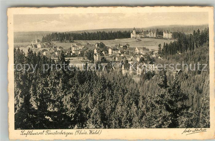 AK / Ansichtskarte Finsterbergen Panorama Finsterbergen