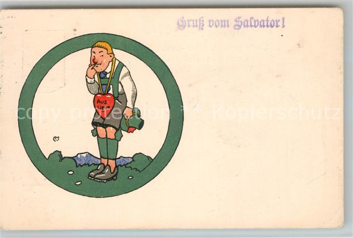 AK / Ansichtskarte Muenchen Salvator / Muenchen