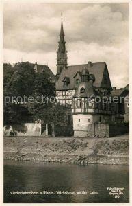 AK / Ansichtskarte Niederlahnstein Wirtshaus  Niederlahnstein