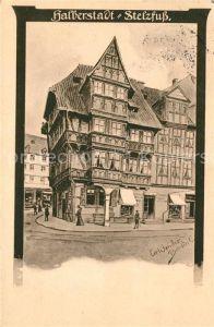 AK / Ansichtskarte Halberstadt Stelzfuss Halberstadt