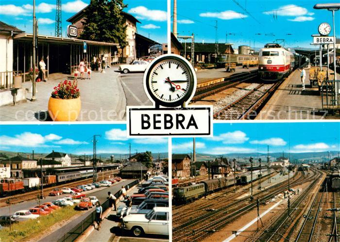 AK / Ansichtskarte Bebra Bahnhof Bebra