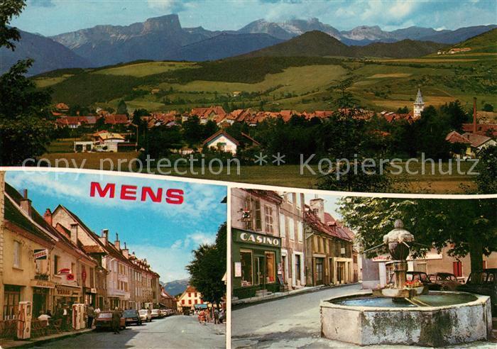 AK / Ansichtskarte Mens Casino Brunnen Mens