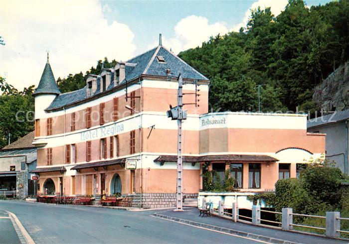 AK / Ansichtskarte Saint Nectaire_Puy_de_Dome Restaurant Regina Saint Nectaire_Puy