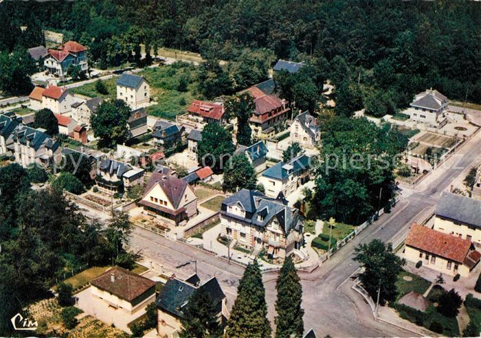 AK / Ansichtskarte Bagnoles de l_Orne Fliegeraufnahme Rue du Vieux Moulin  Bagnoles de l_Orne