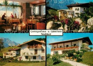 AK / Ansichtskarte Oberau_Berchtesgaden Grenzgasthaus Neuhaeusl Oberau Berchtesgaden