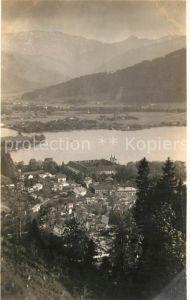 AK / Ansichtskarte Tegernsee Blick auf den Tegernsee mit Kloster Alpen Tegernsee