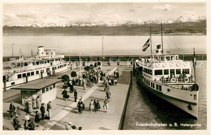 AK / Ansichtskarte Motorschiffe MS Ravensburg Friedrichshafen Bodensee  Motorschiffe